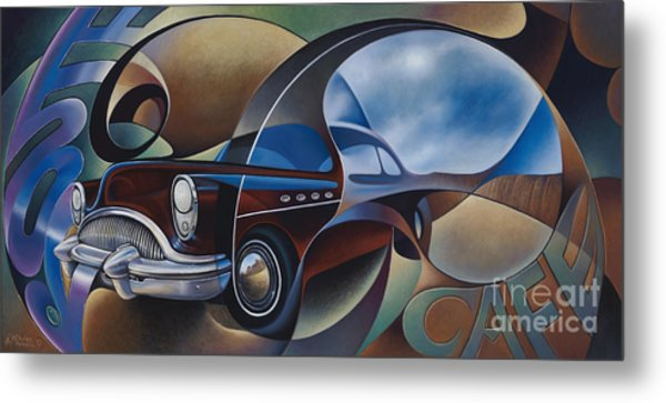 Dynamic Route 66 Metal Print