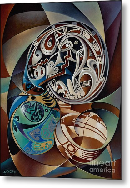 Dynamic Still Il Metal Print