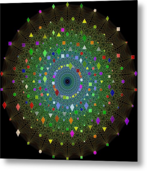 E8 Theory Of Everything Metal Print by J Gregory Moxness