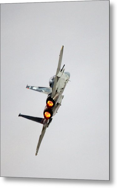 Eagle Afterburner 2 Metal Print
