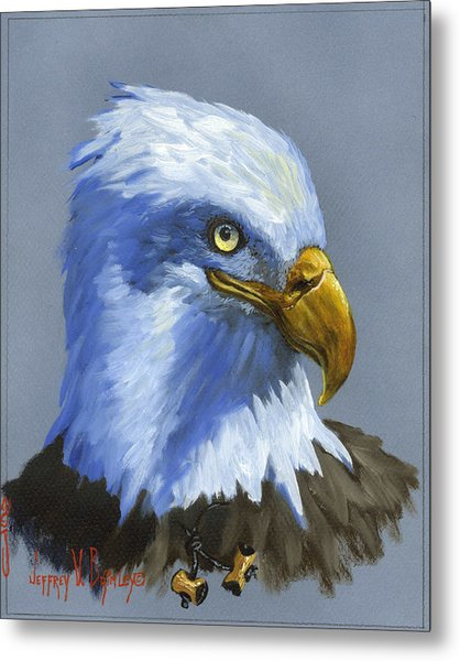 Eagle Patrol Metal Print