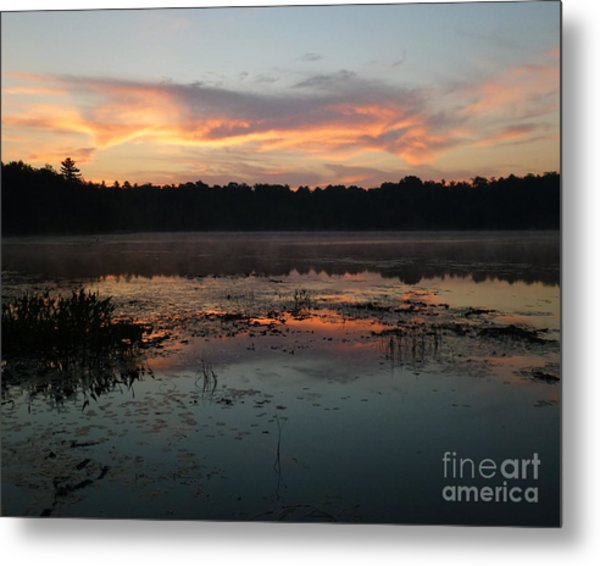 Eagle River Sunrise No.5 Metal Print