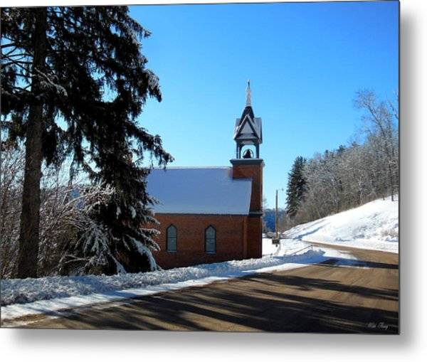 Eagle Valley Church Metal Print