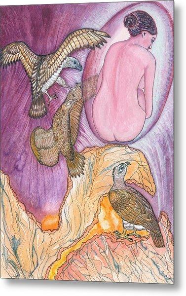 Eagles Metal Print by Lucia Conrad