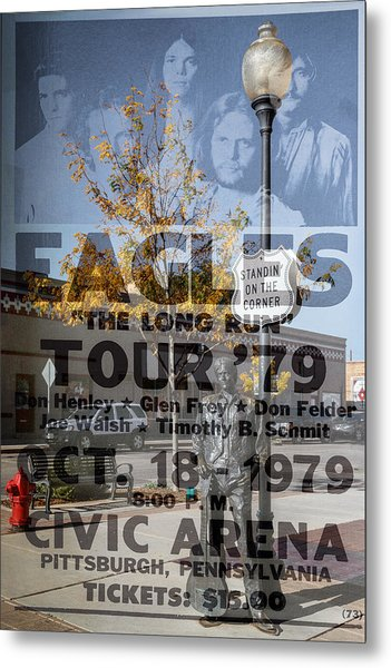 Eagles The Long Run Tour Metal Print
