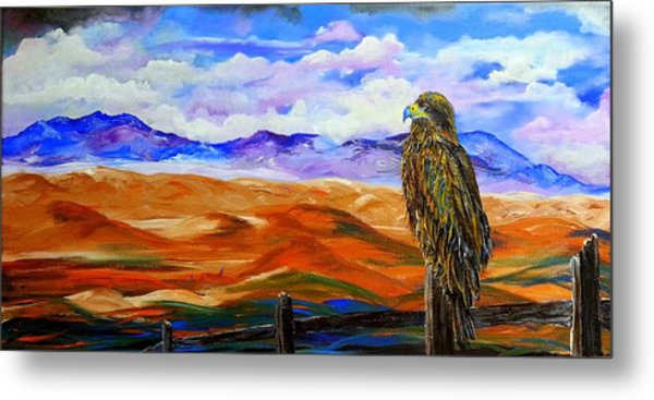 Eagles Watch Metal Print