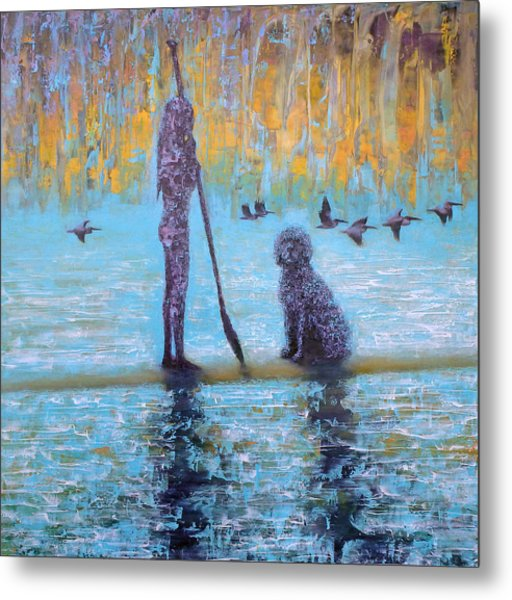 Early Birds Metal Print by Ned Shuchter