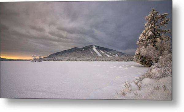 Early Dawn At Shawnee Peak Metal Print
