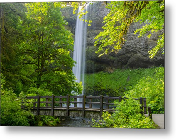 Early Morning At South Falls  Metal Print