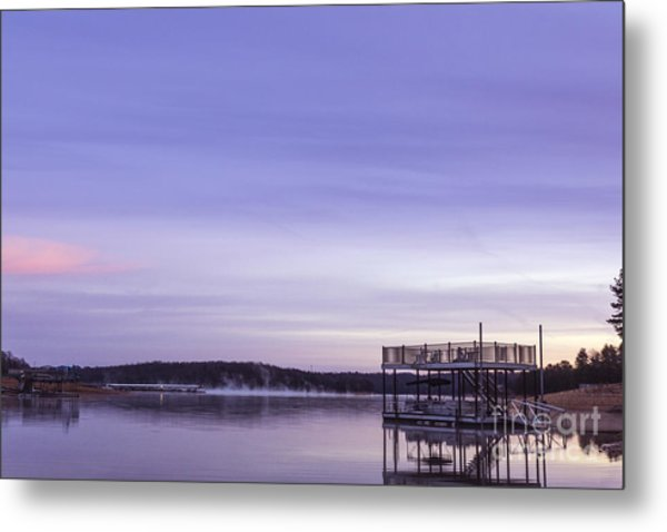 Early Morning At The Lake Metal Print