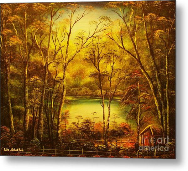 Early Morning- Original Sold-buy Giclee Print Nr 34 Of Limited Edition Of 40 Prints  Metal Print