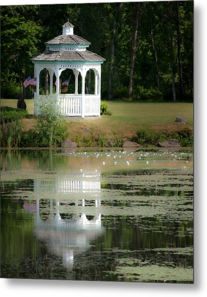 Early Morning Delight Metal Print by Nan Schefcick