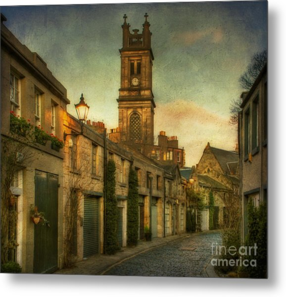 Early Morning Edinburgh Metal Print