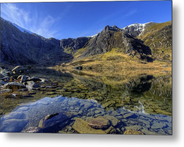 Early Morning Lake Metal Print
