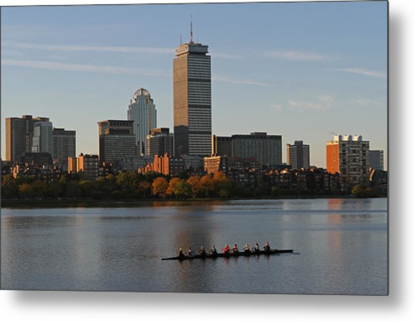 Early Morning Preparation For The Head Of The Charles  Metal Print