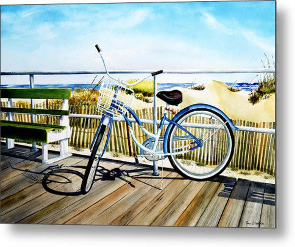 Early Morning Ride Metal Print
