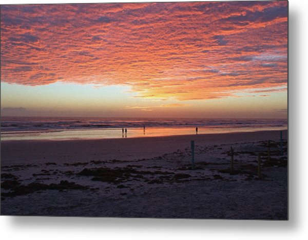 Early Morning Risers Metal Print
