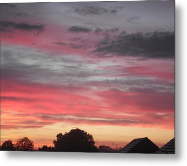 Early Morning Sunrise 1 Metal Print