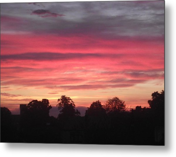 Early Morning Sunrise 2 Metal Print