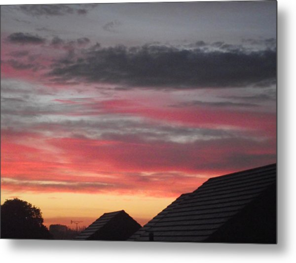 Early Morning Sunrise 4 Metal Print