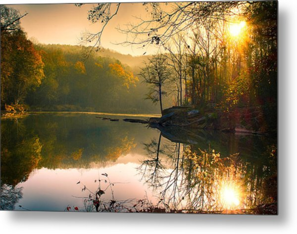 Early Morning Metal Print by Vincent  Dale