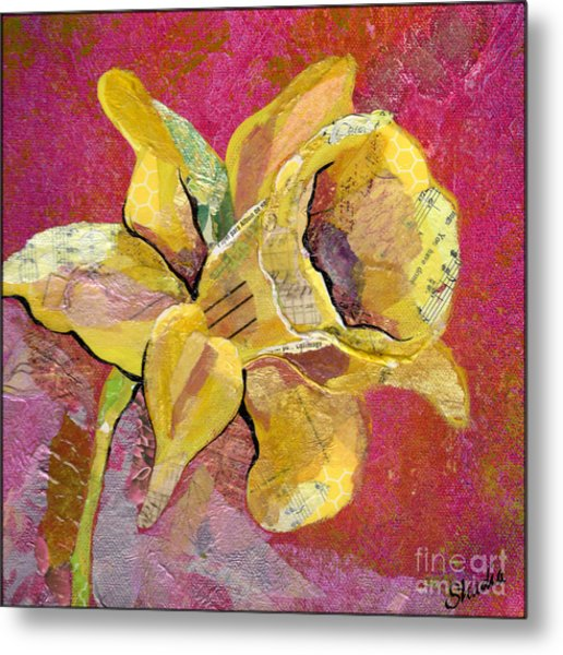 Early Spring I Daffodil Series Metal Print