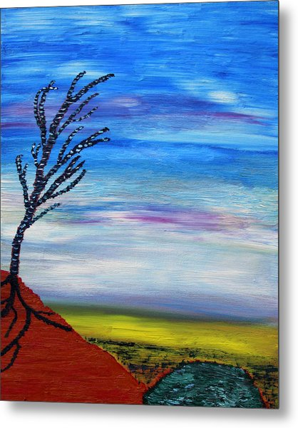 Early Spring In The Air Metal Print