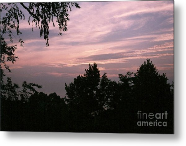 Early Sunrise In Central Illinois Metal Print