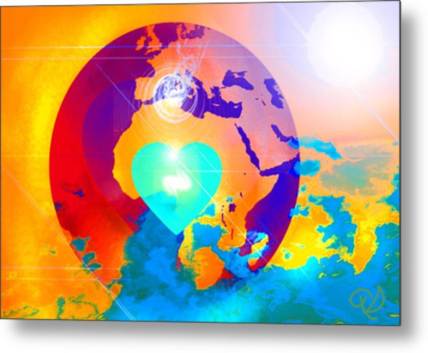 Earth Changes Metal Print