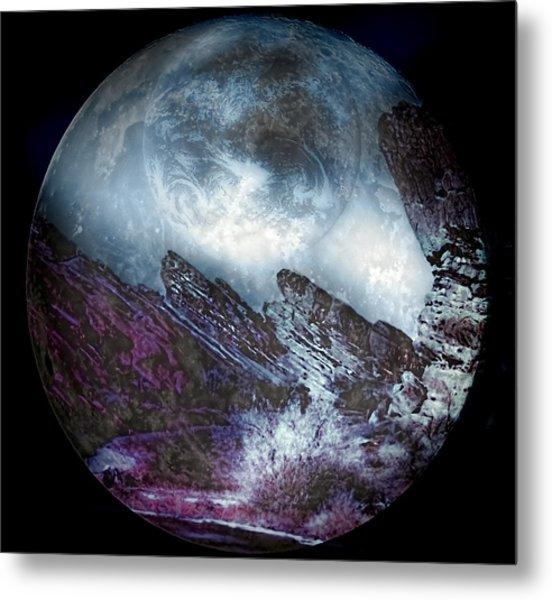 Earth Land Metal Print