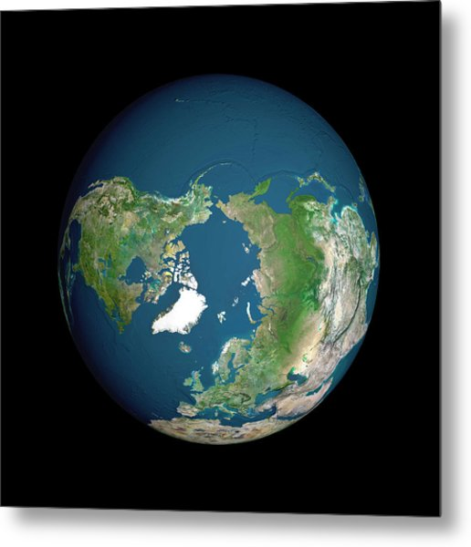Earth Metal Print by Planetobserver/science Photo Library