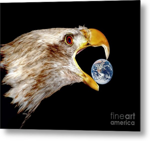 Earth Shattering Influence Metal Print