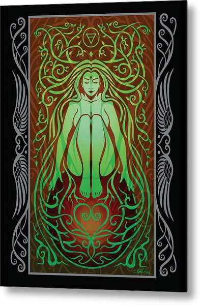 Earth Spirit V.2 Metal Print by Cristina McAllister