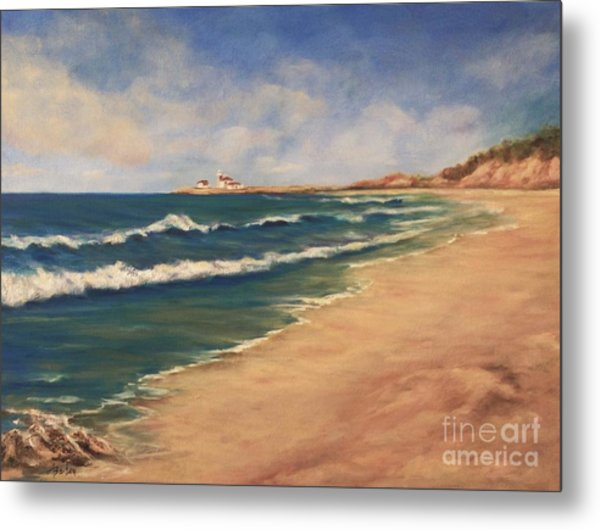 East Beach Watch Hill  Metal Print
