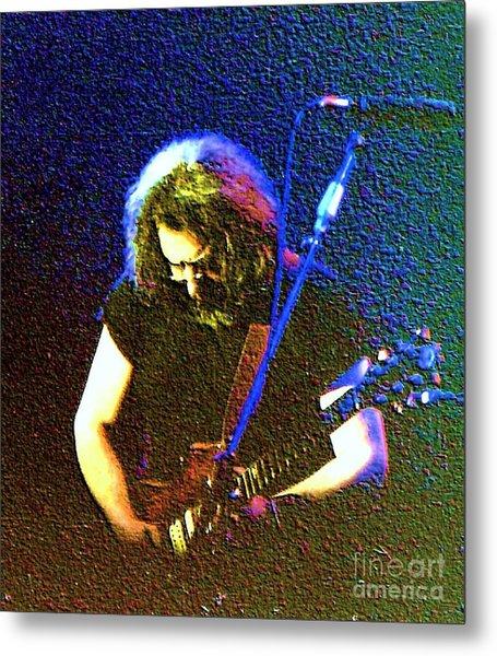 Grateful Dead - East Coast Tour - Jerry Garcia Metal Print
