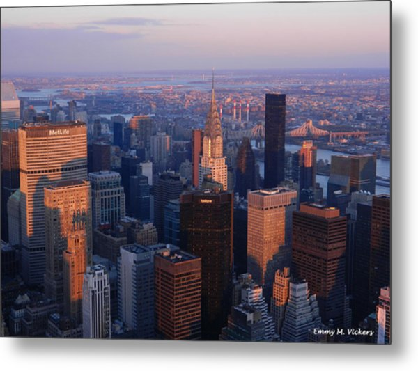 East Coast Wonder Aerial View Metal Print