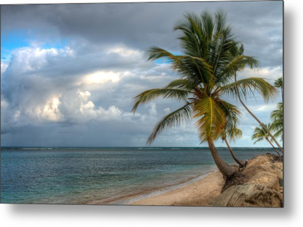 East From Puerto Rico Metal Print