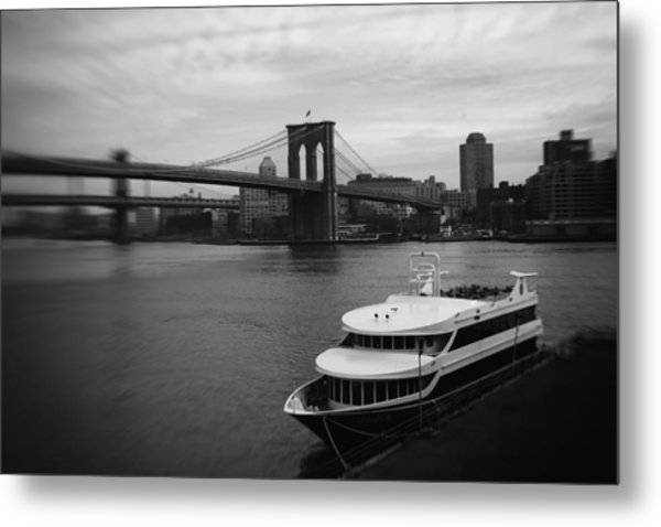 East River Afternoon Metal Print by Ben Shields