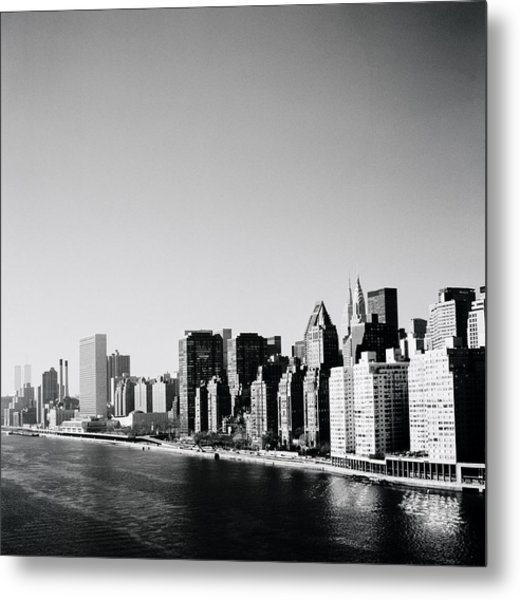East River New York Metal Print