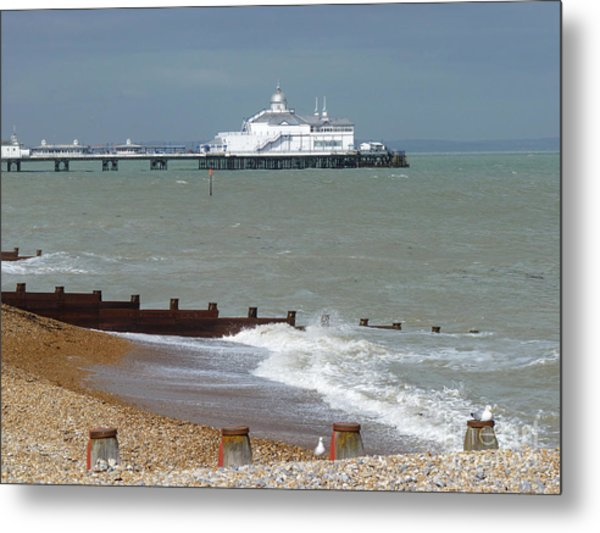 Eastbourne Beach And Pier Photograph By Phil Banks