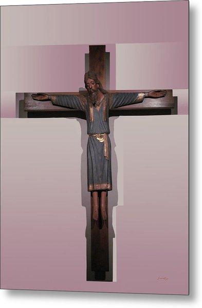 Easter Pasqua Croce Di Gesu Cross Of Jesus Metal Print