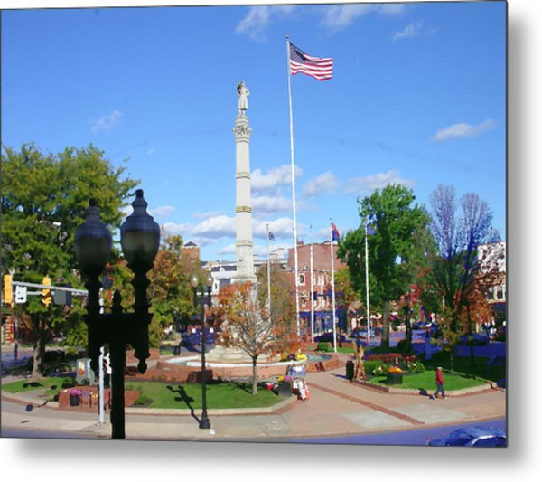 Easton Pa - Civil War Monument Metal Print