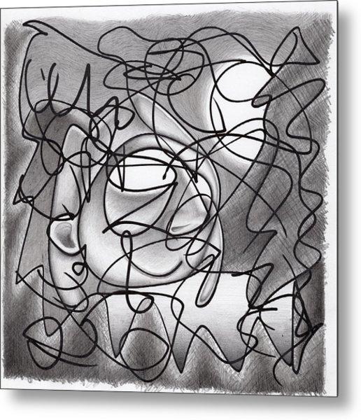 Eavesdropping Metal Print