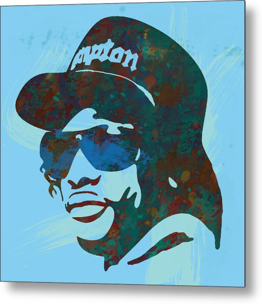 Eazy-e Pop  Stylised Art Sketch Poster Metal Print