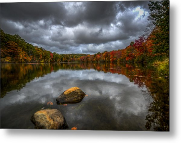 Echo Metal Print by Johnny Lam