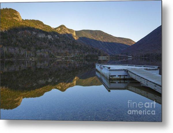 Echo Lake - Franconia Notch State Park New Hampshire Usa Metal Print