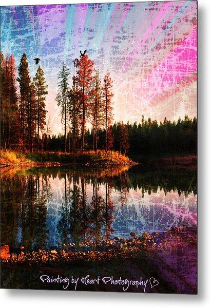 Echo Lake Metal Print