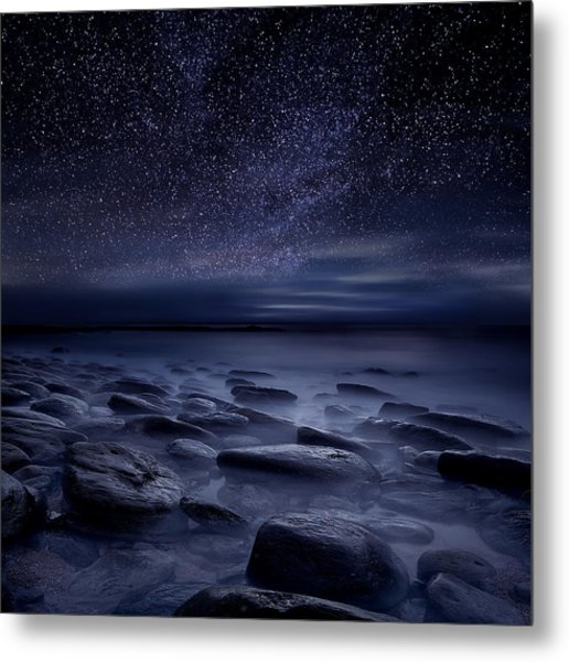 Echoes Of The Unknown Metal Print