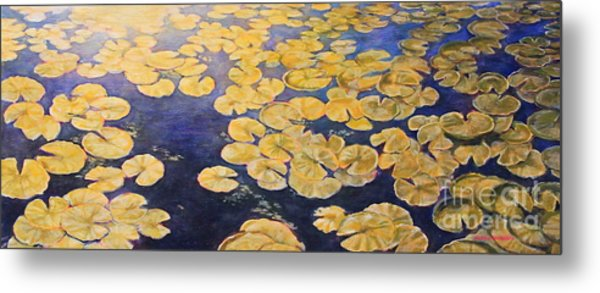 Eco Park Lake Metal Print