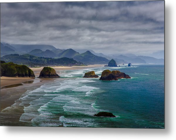 Ecola Viewpoint Metal Print